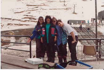 me julie, sue and kylie in new zealand